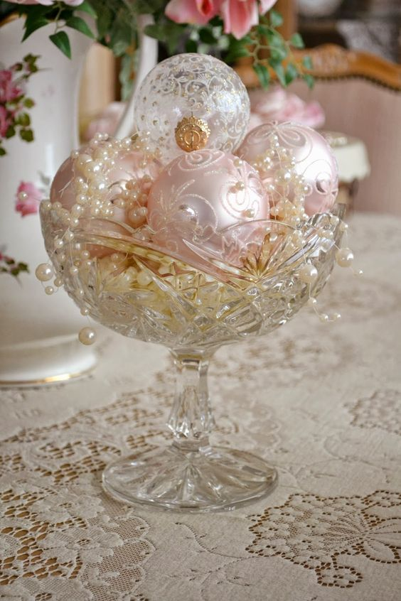 17-antique-crystal-bowl-with-pink-and-ivory-ornaments-and-pearls
