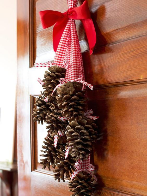 23-gather-pinecones-in-your-yard-and-add-a-chunky-ribbon.