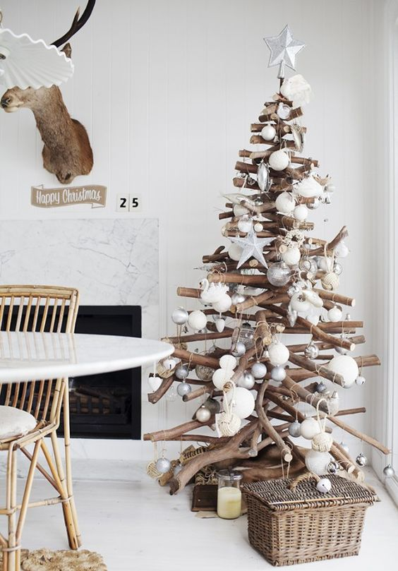 23-modern-holiday-tree-of-sticks-with-metallic-and-white-ornaments