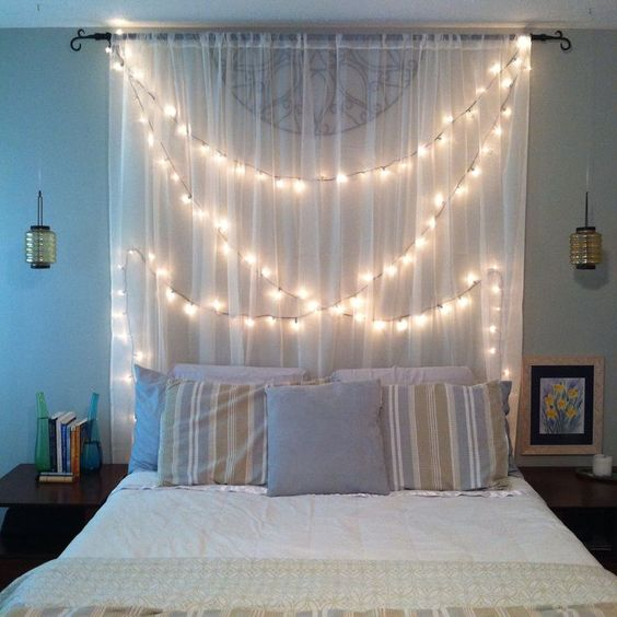 28-curtain-headboard-with-hanging-lights