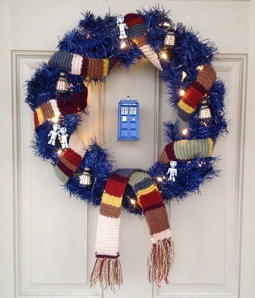 36-blue-wreath-with-lights-a-scarf-and-Tardis