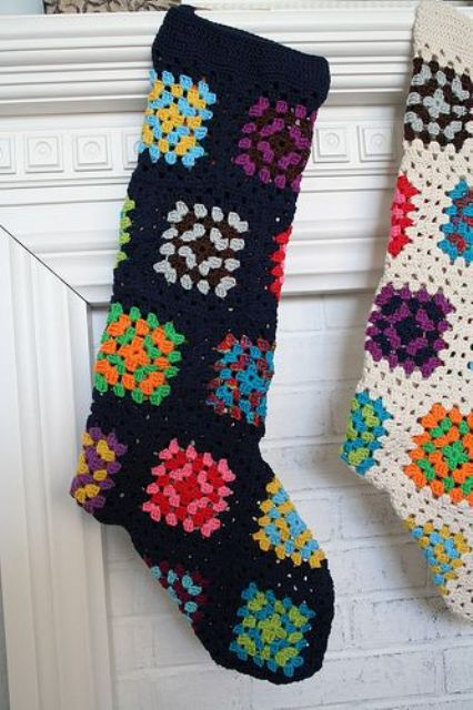 37-Granny-square-stockings-in-bold-colors